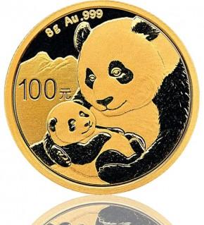 China Gold Panda 8 g 2019