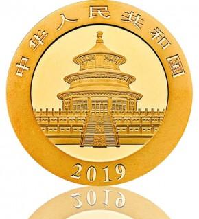 China Gold Panda 1 g 2019
