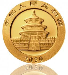 China Gold Panda 1 g 2020