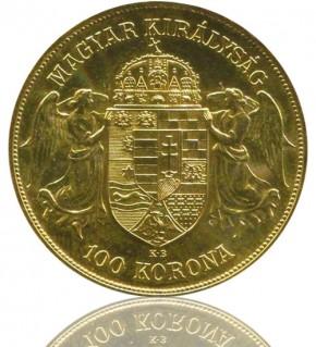 100 Kronen / Korona Ungarn