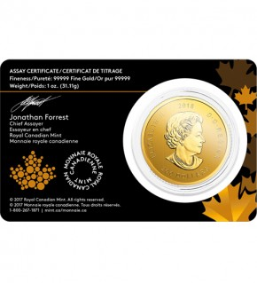 Golden Eagle Gold 1 oz 2018 - Goldener Adler - Call of the Wild