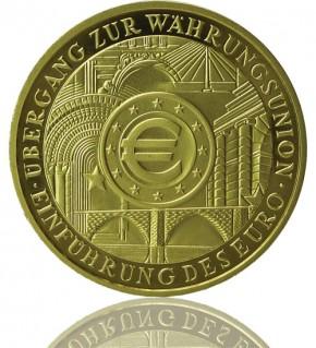 Goldeuro 1 oz 2002 Währungsunion
