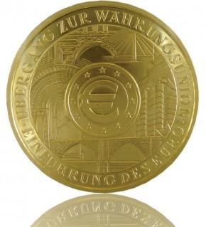 Goldeuro 1/2 oz 2002 Währungsunion