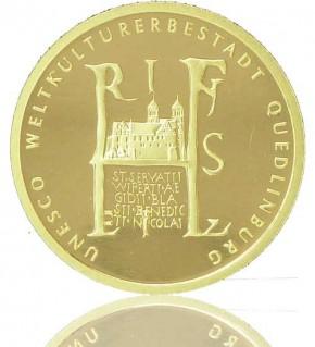 Goldeuro 1/2 oz 2003 Quedlinburg