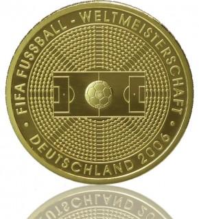 Goldeuro 1/2 oz 2005 Fußball-WM