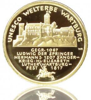 Goldeuro 1/2 oz 2011 Wartburg