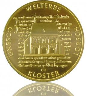 Goldeuro 1/2 oz 2014 A - Kloster Lorsch