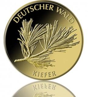 Deutscher Wald Goldeuro 1/8 oz 2013 A - Kiefer