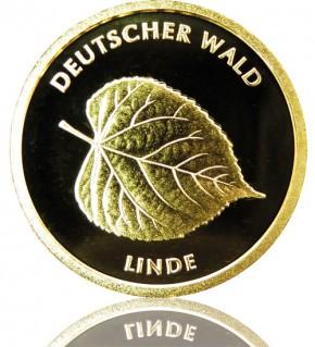 Deutscher Wald Goldeuro 1/8 oz 2015 D - Linde