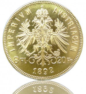 Gulden 8 Florin / 20 Franken