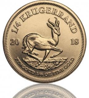 Krügerrand 1/4 oz Gold 2018