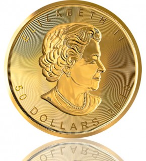 Maple Leaf Gold 1 oz 2019 Incuse