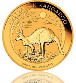 Gold Känguru 1/10 oz 2019