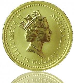 Gold Nugget/Känguru 1/10 oz 1994