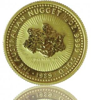 Nugget/Känguru 1/10 oz div. Jg.