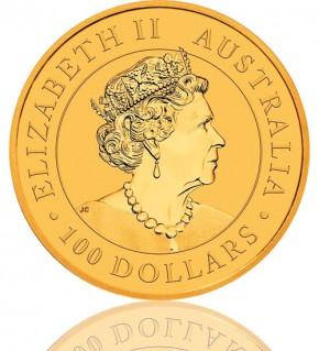 Gold Nugget/Känguru 1 oz 2020