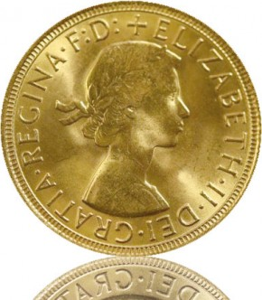 Gold Sovereign 1 Pfund