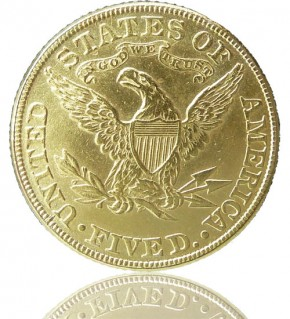 5 US-Dollar Liberty- & Indian Head