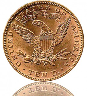 10 US-Dollar Liberty- & Indian Head