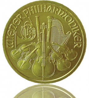 Wiener Philharmoniker Gold 1/10 oz 2018