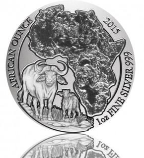 Ruanda African Ounce Kaffernbüffel 2015