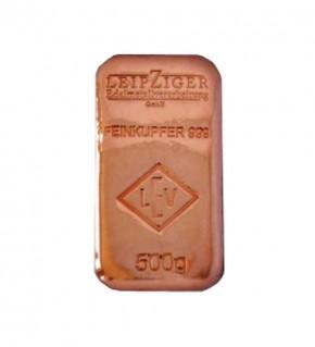 500 g Kupferbarren