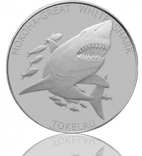 Tokelau Mokoha Great White Shark 1 oz 2015