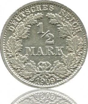 1/2 Mark 1905-1919 J. 16