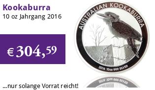 Kookaburra 10 oz 2016