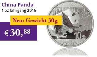 China Panda 30 g 2016