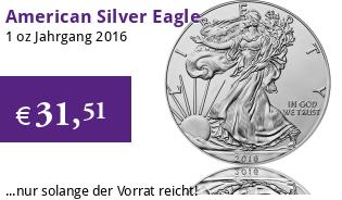 American Silver Eagle 1 oz 2016