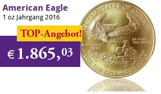 American Eagle 1 oz 2016