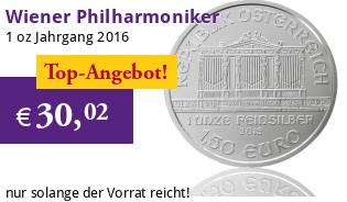 Wiener Philharmoniker 1 oz 2016