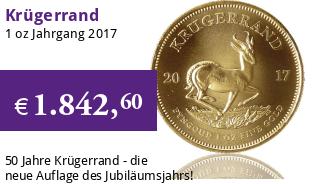 Krügerrand 1 oz 2017