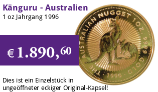 Gold Kangaroo 1 oz 1996