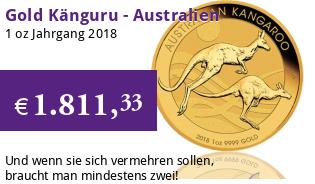 Gold Kangaroo 1 oz 2018