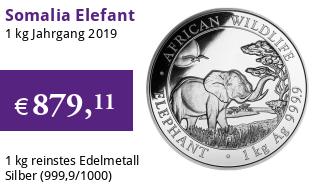 1 kg Somalia Elefant 2019 African Wildlife