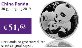 China Silberpanda 30 g 2019