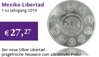 Libertad Silber 1 oz 2019