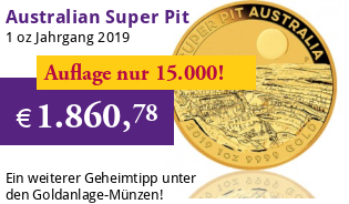 Australien Super Pit 1 oz 2019 Perth Mint