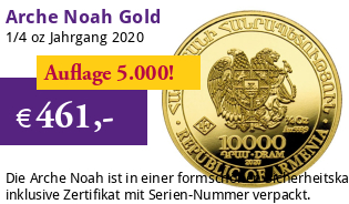 Arche Noah Gold 1/4 oz 2020