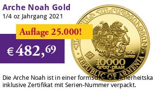Arche Noah Gold 1/4 oz 2021