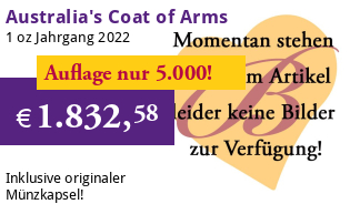 Coat of Arms Australia RAM 1 oz Gold 2021