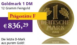 Goldmark 1 DM 2001 F